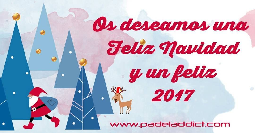 Desde @padeladdict os deseamos a todos los padeleros una Feliz Navidad y un feliz 2017!  #feliznavidad #navidad #2017 #padel #instapadel #worldpadeltour #padeltime #padeladdict