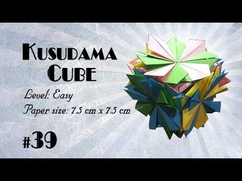 Photo of Origami Tutorial – How to fold Origami Modular Cube step-by-step – DIY