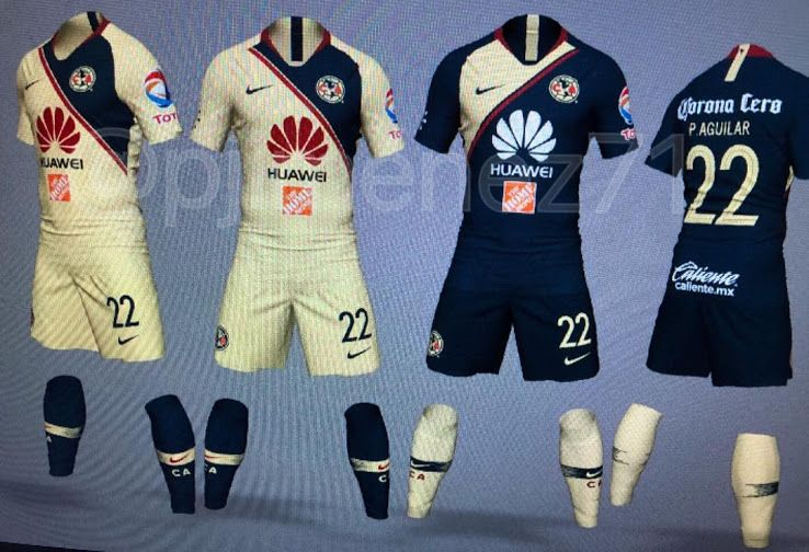 Nike Club America 2018-19 Home 2918ea0daa58