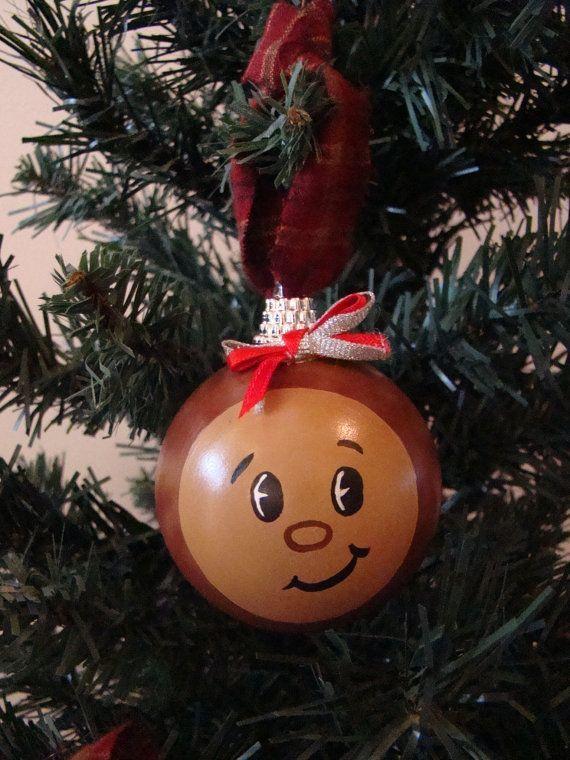 osu buckeye homemade christmas ornaments   ...  www.etsy.com/listing/114465348/ohio-state-buckeye-christmas-ornament - Osu Buckeye Homemade Christmas Ornaments Www.etsy.com/listing