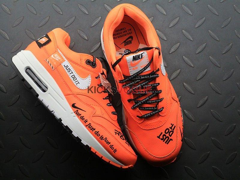 "df0653f33d Total Orange AIR MAX 1 LUX ""JUST DO IT"" | www.kicksvogue.net in 2019 ..."