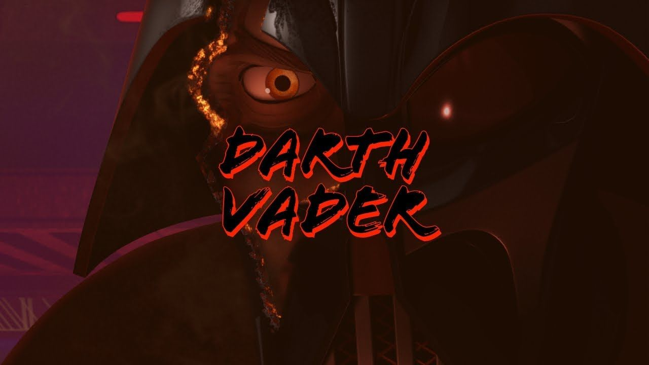 I made a music video combining scenes of Anakin/Vader from the ...