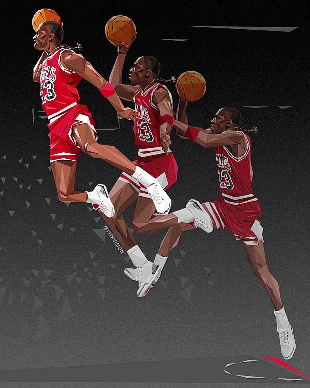Michael Jordan Art On Instagram 13thvision Michaelairjordans