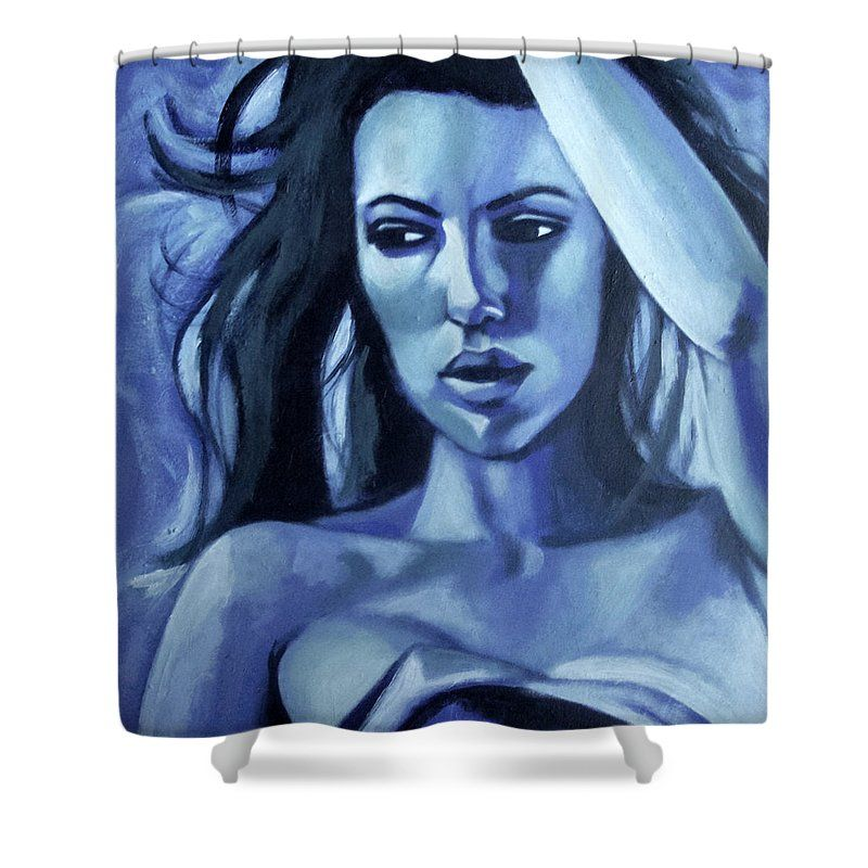 Ocean Storm Shower Curtain For Sale By Lee Wilde-Portraits