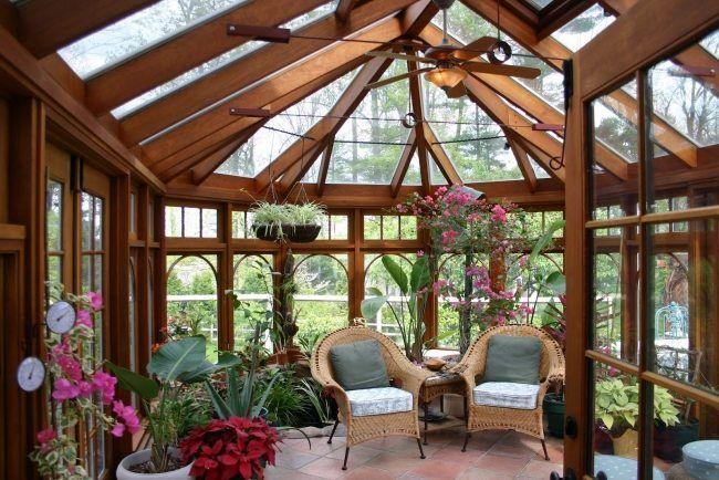 Einen Wintergarten bauen Was man bei der Planung
