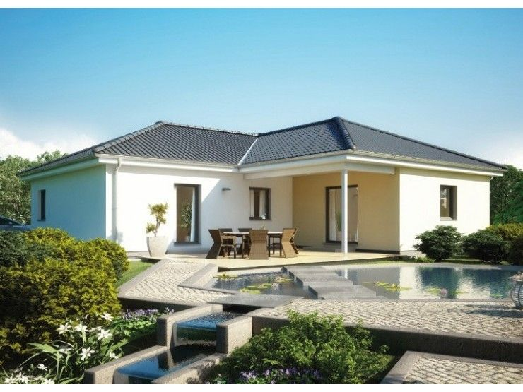 bungalow 113 einfamilienhaus von hanse haus gmbh. Black Bedroom Furniture Sets. Home Design Ideas
