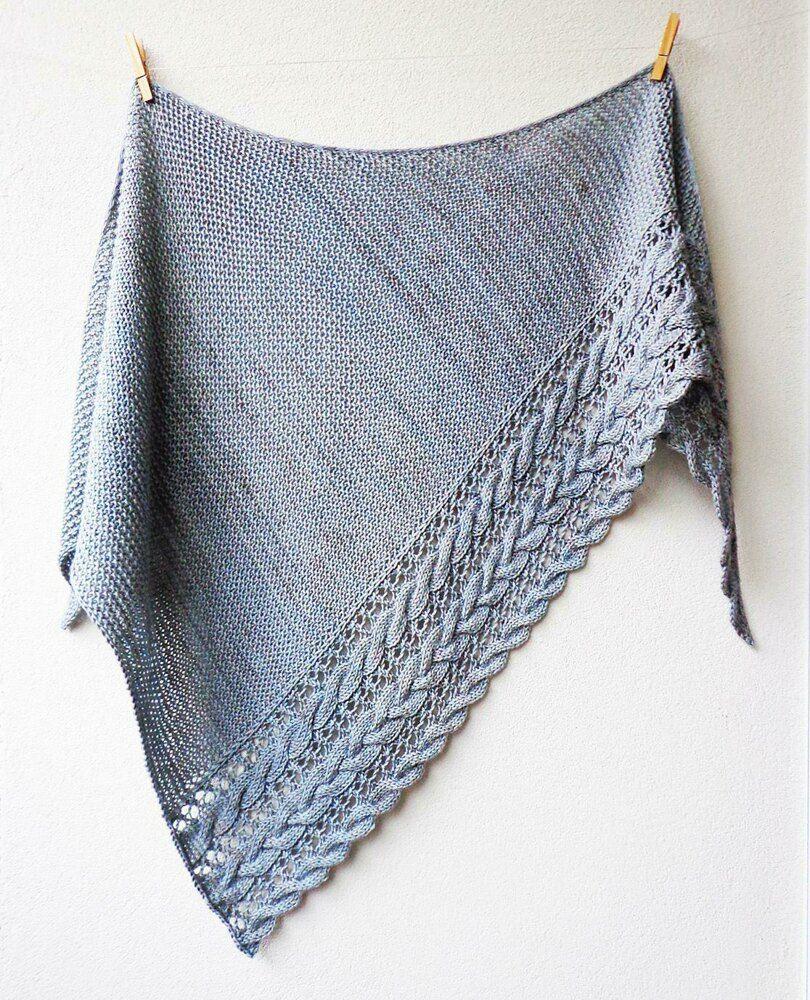 Fallen Cloud Knitting pattern by Lisa Hannes