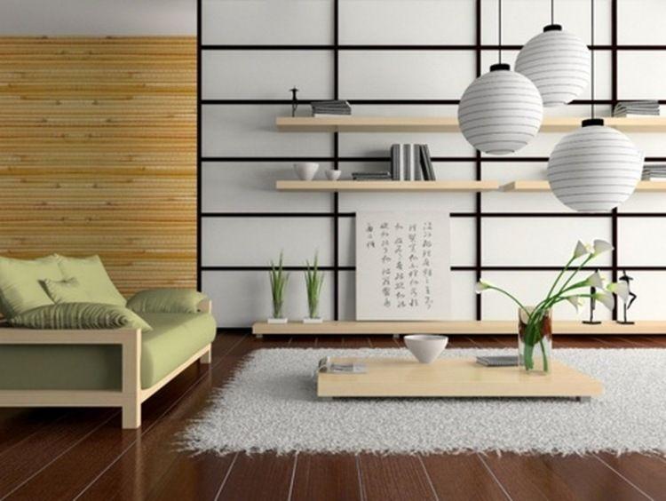 Décoration maison de style japonais- en savoir tout! Salons
