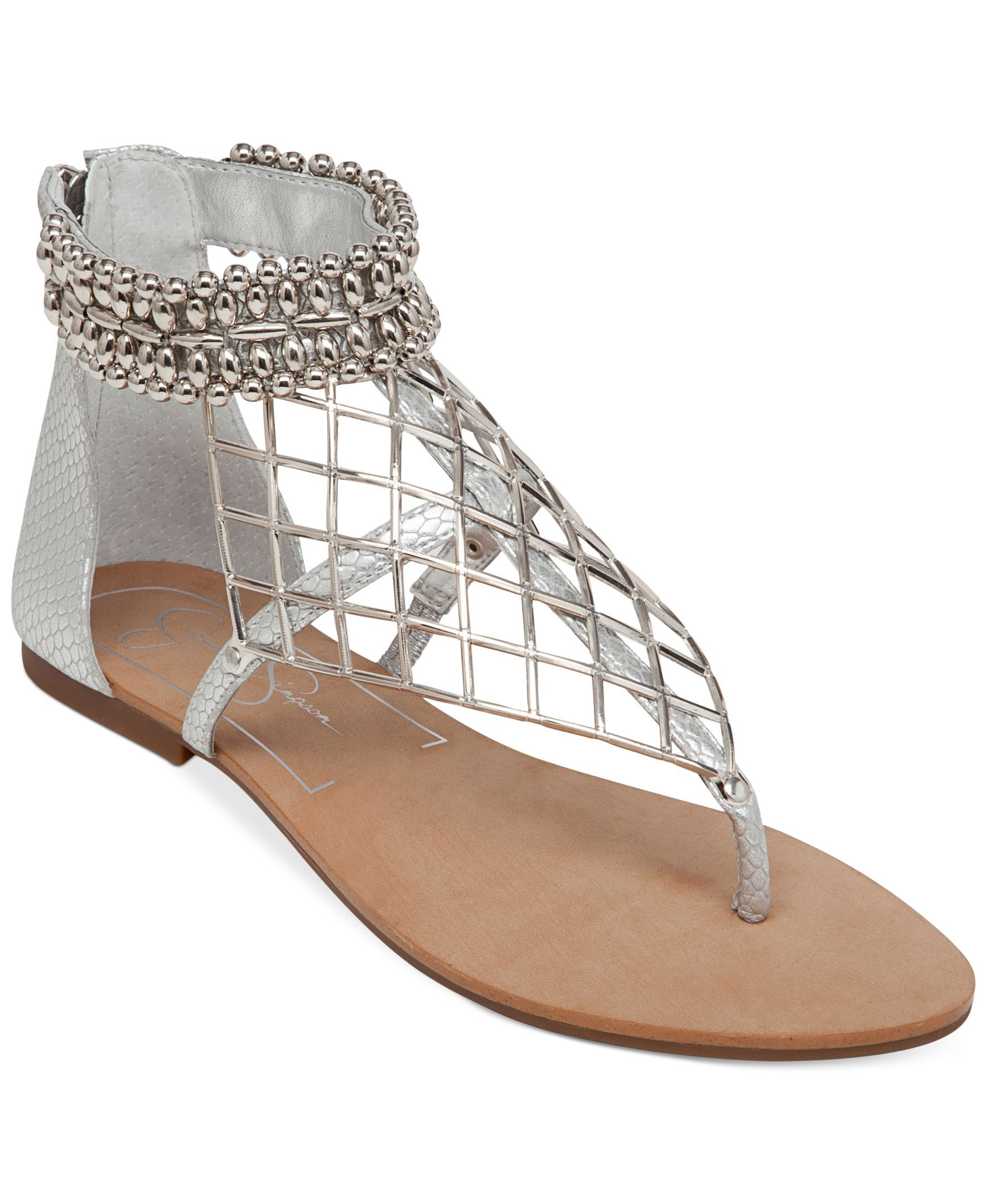 bcd0368a3 Jessica Simpson Kyla Hooded Flat Thong Sandals