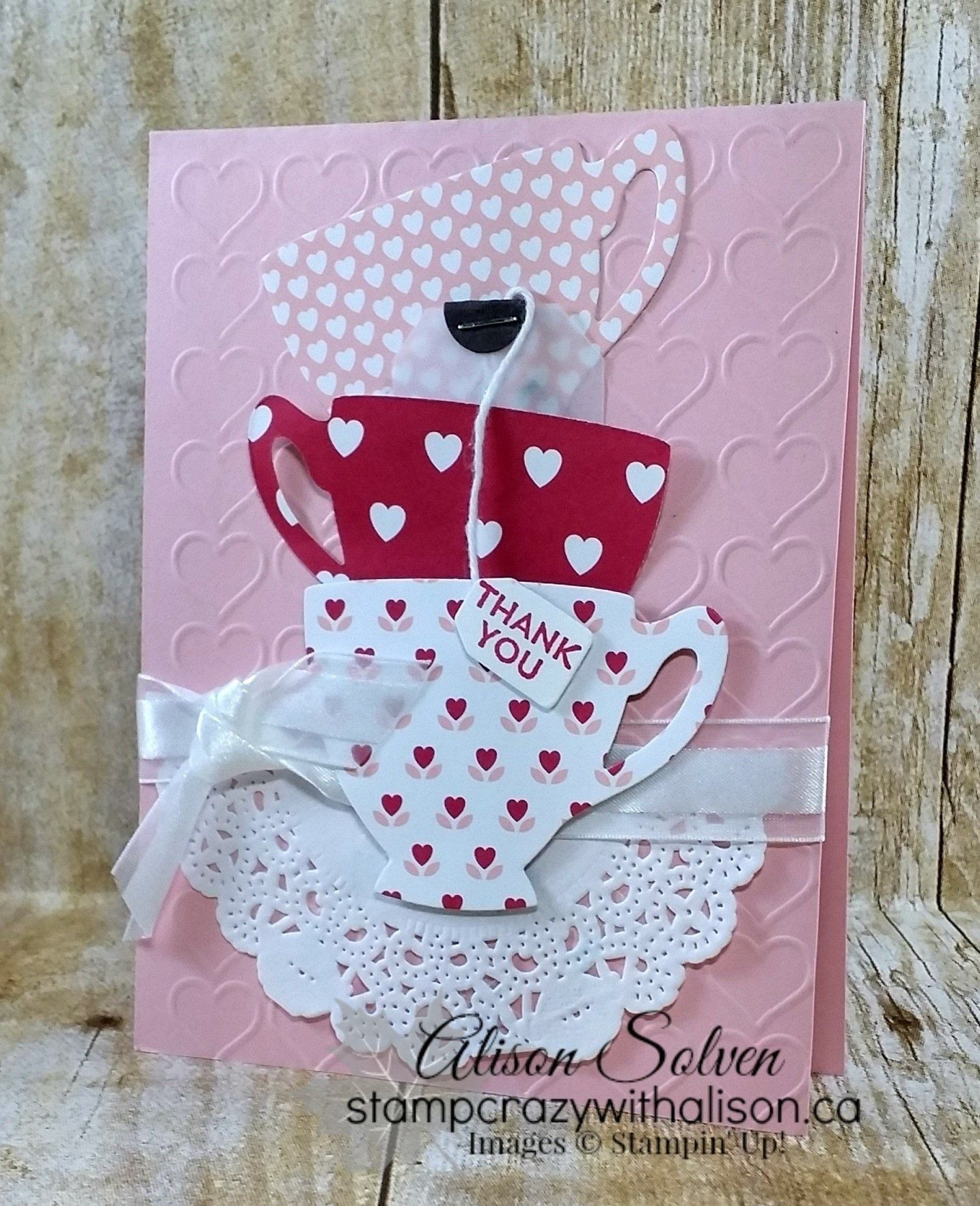 Have A Cuppa Suite Tutorials Cards And Papercraft
