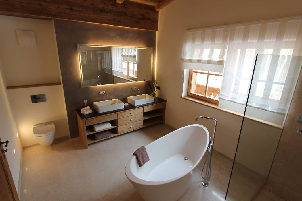 Inspirationen badezimmer im landhausstil  Pin von Bianca auf Badezimmer | Pinterest | Kitzbühel, Immobilien ...