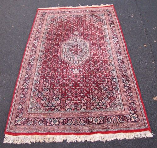 9x5 Handmade Persian Area Rug At The Raleigh Furniture Gallery | EBay