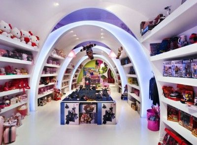 Captivating Modern Toy Store Interior Lighting Design  Great Up Grade For Design Inspirations