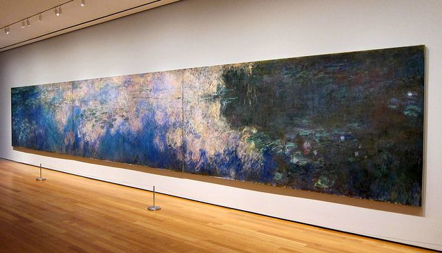 Lilies Water Lily Pond Monet Water Lilies Museum Of Modern Art