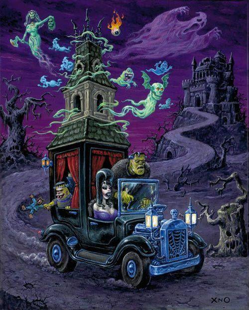 Great piece of old school monster art