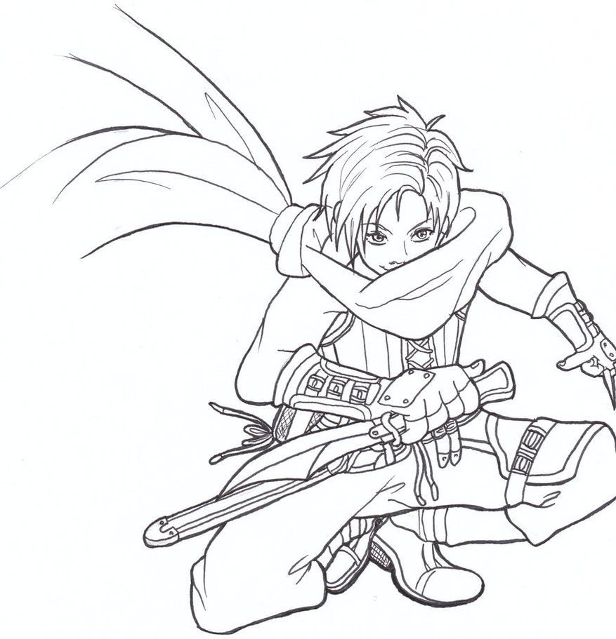 fire emblem coloring pages - Google Search | Coloring ...