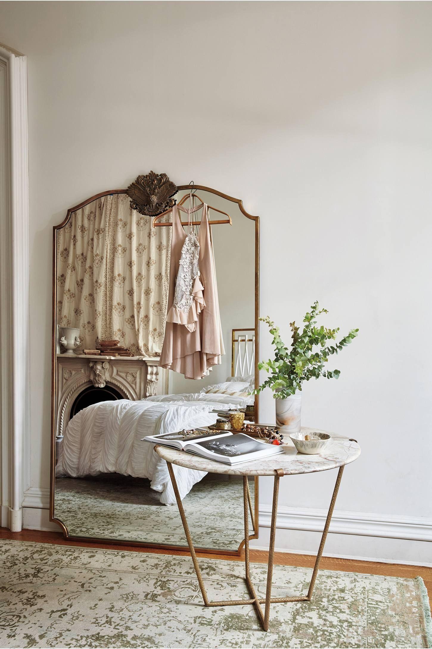 Wooded Manor Mirror -   25 unique home decor ideas