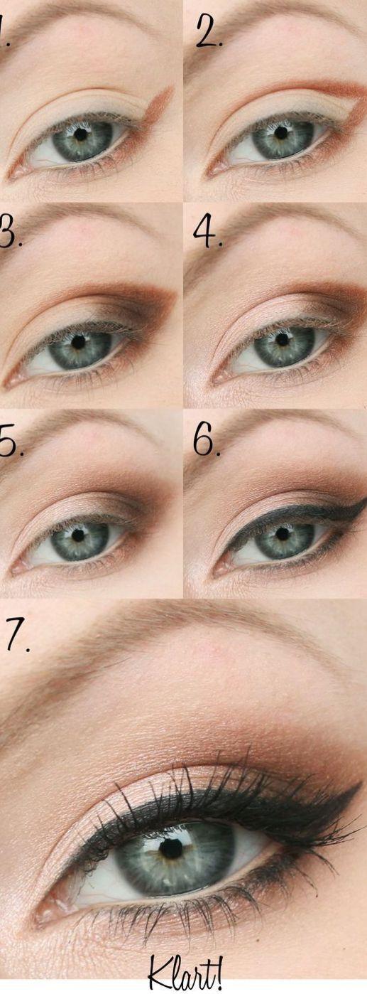 10 einfache, schrittweise Anleitungen für Eyeliner für Anfänger  - Health and Beauty -