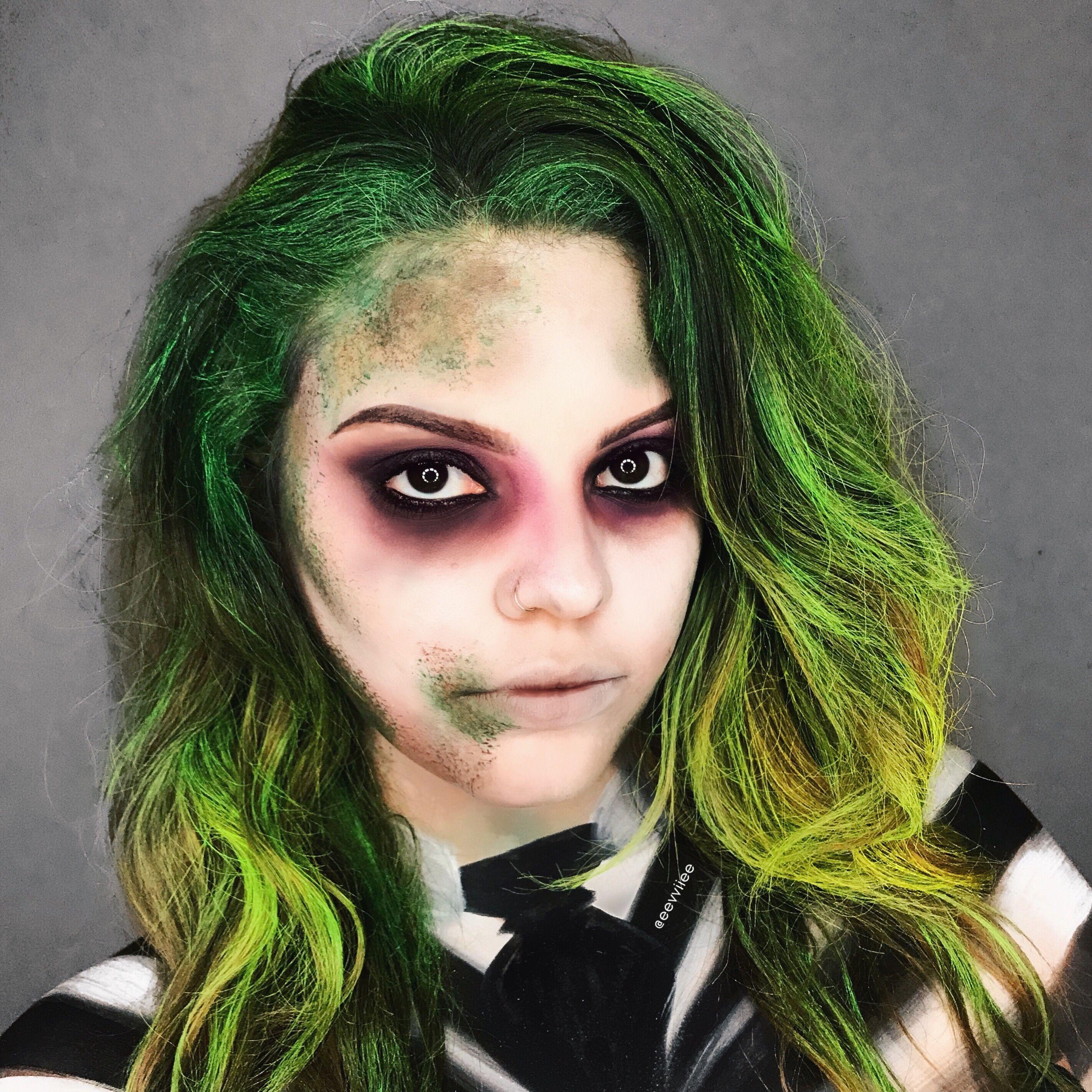 beetlejuice halloween makeup | halloween in 2018 | pinterest