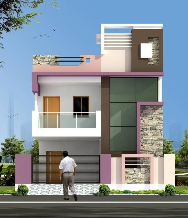 Front Elevation Design Ideas From Architects In Jaipur: Small House Elevation Design