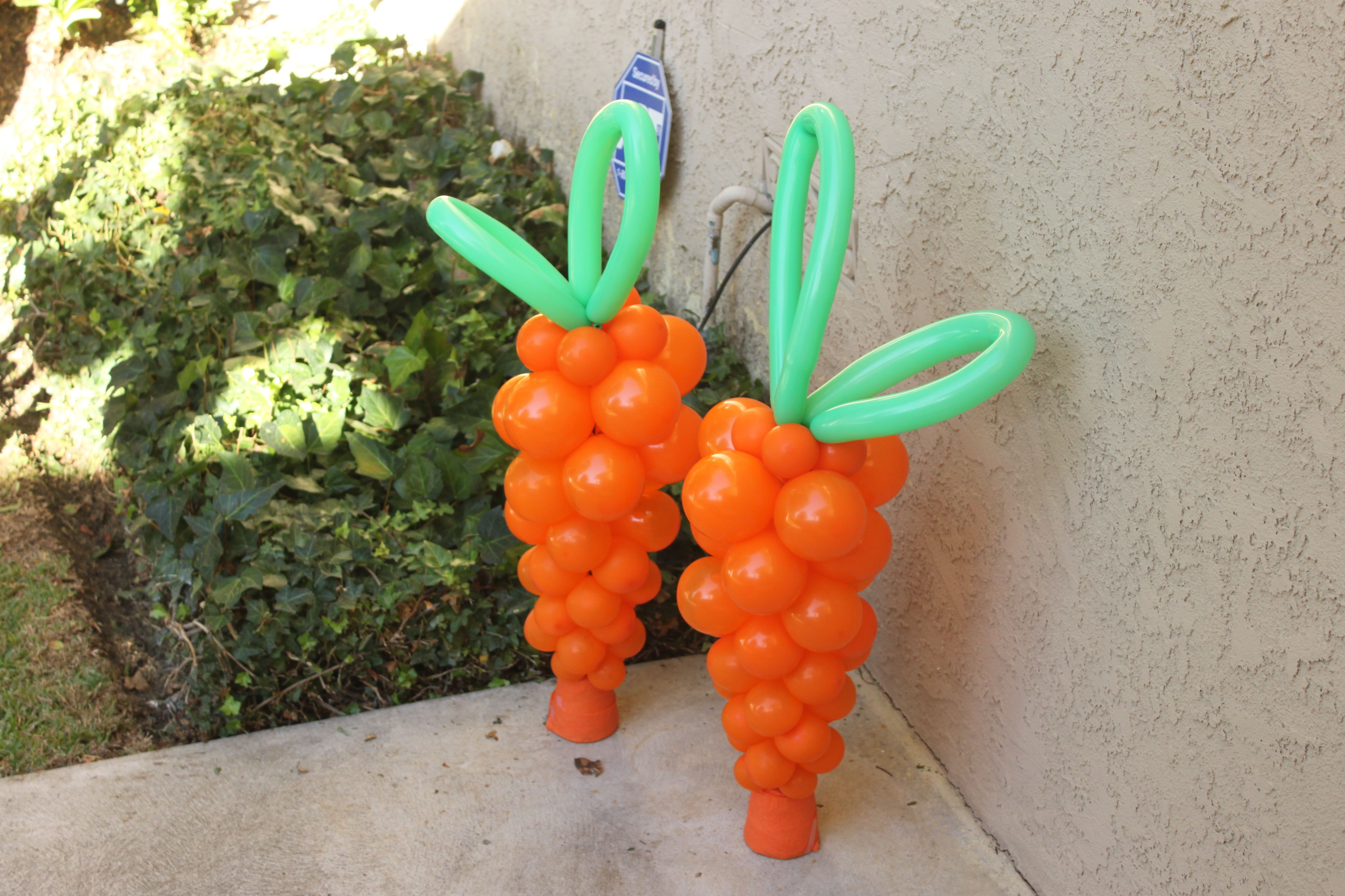 Harry The Bunny Party Balloon Carrots Amayton Ill Need Your Skills For These