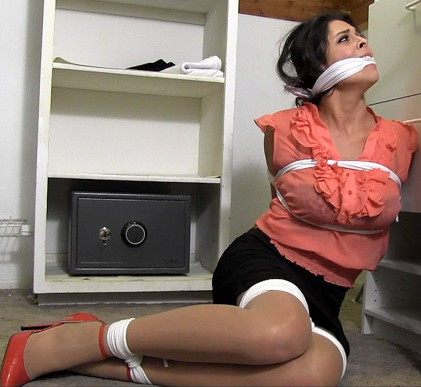 Trophy Wife Tied Up And Put In A Closet Photo Gallery