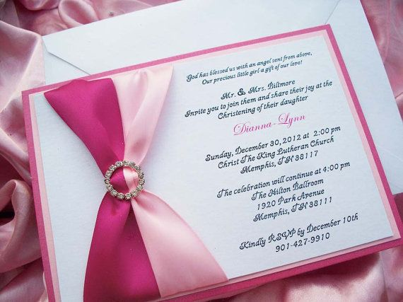 Reserved listing formal baby girl baptism invitation suite baby ribbon and buckle invitation is simple yet classic formal baby girl baptism invitationbaby girl by yesumaystationery stopboris Choice Image