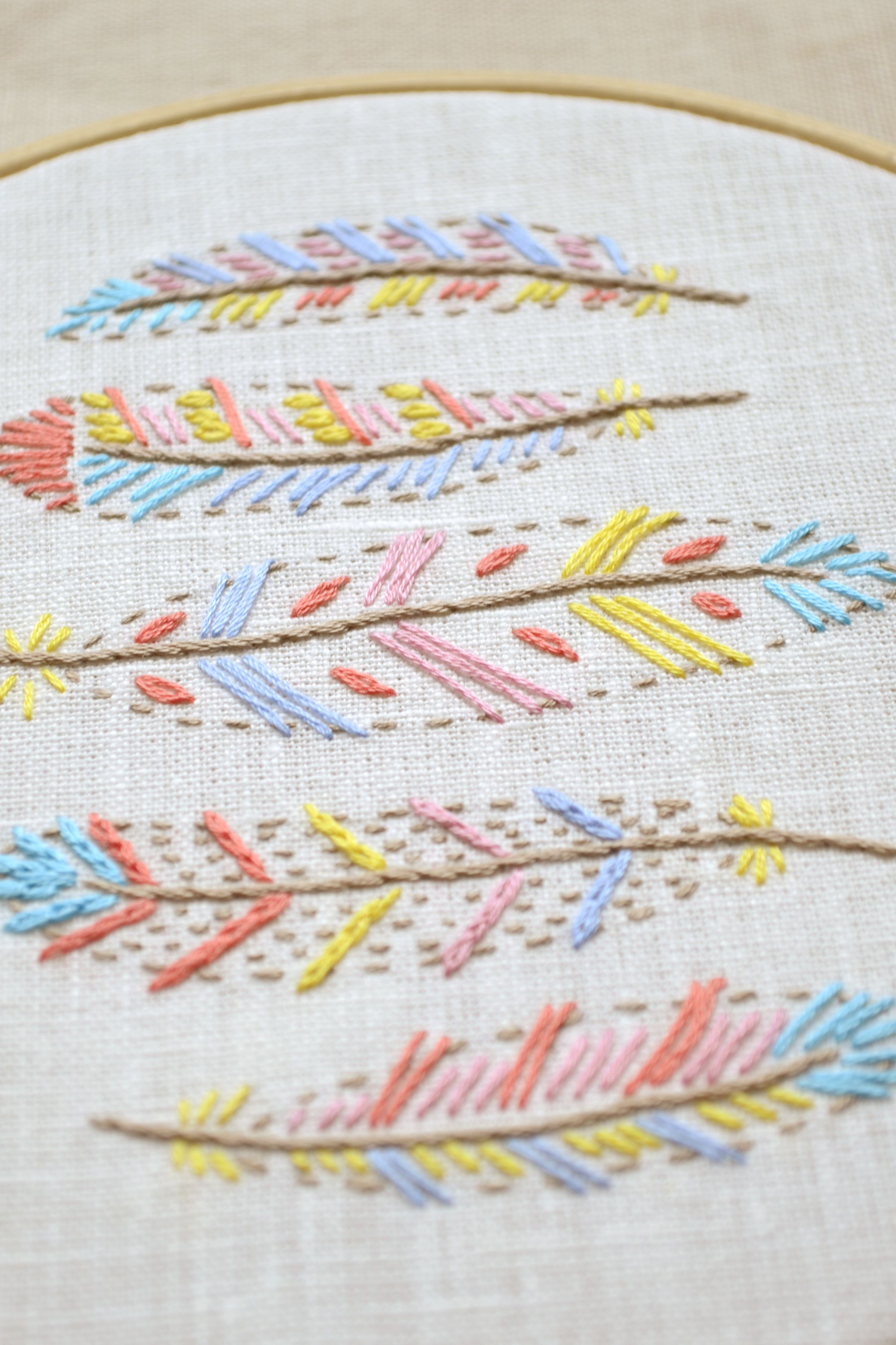 Hand embroidery embroidery pattern embroidery patterns hand embroidery embroidery pattern embroidery patterns embroidery design feathers boho bankloansurffo Gallery