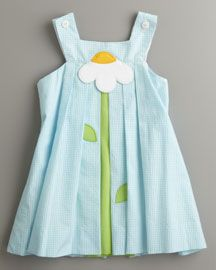 Florence Eiseman - look at this sweet dress for your girls A!