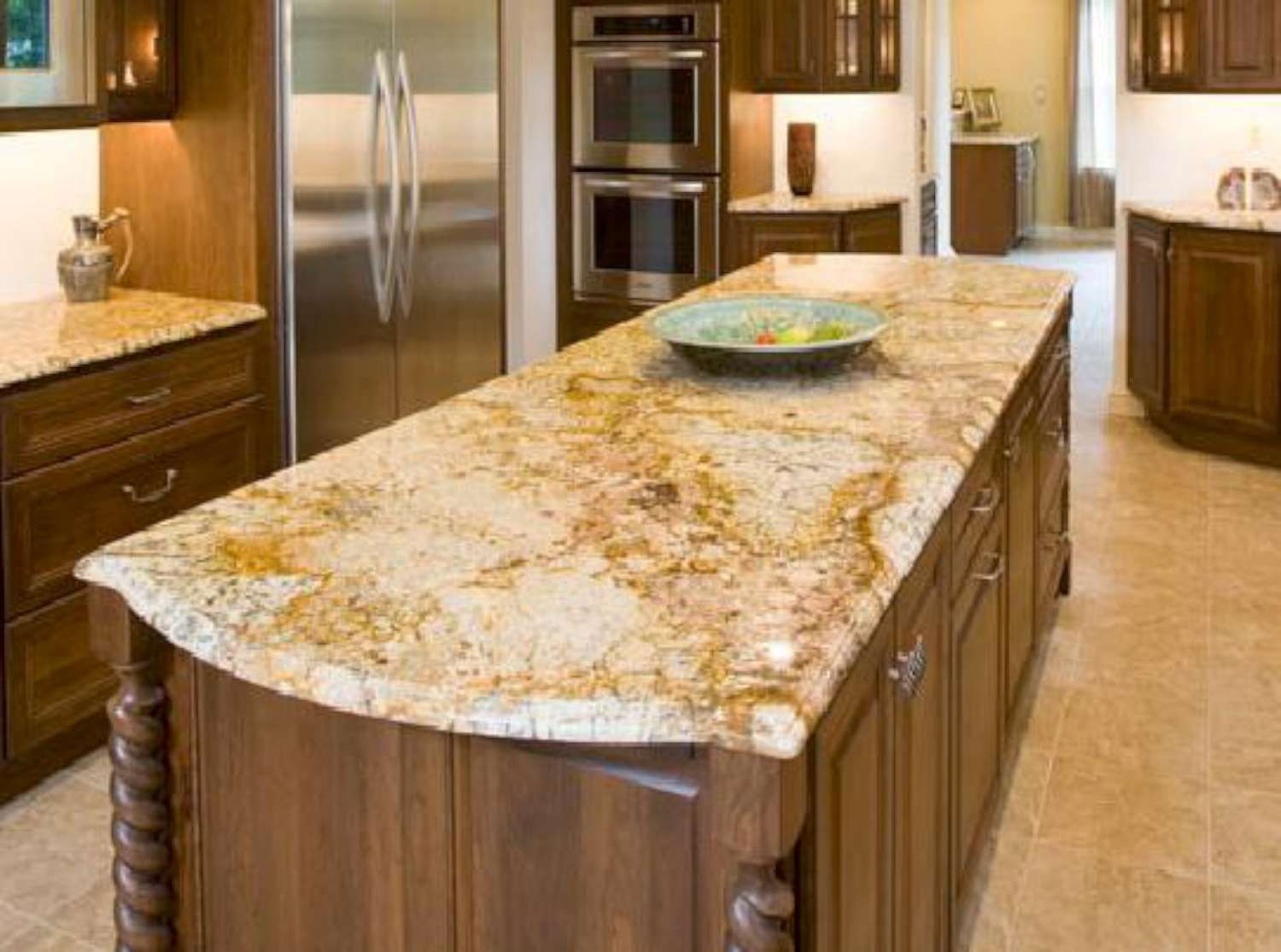 30 Granite Countertop Colors Inspiring Pictures Hd Interior Decorating Colors Kitchen Cabinets And Countertops Kitchen Countertops White Granite Countertops Kitchen