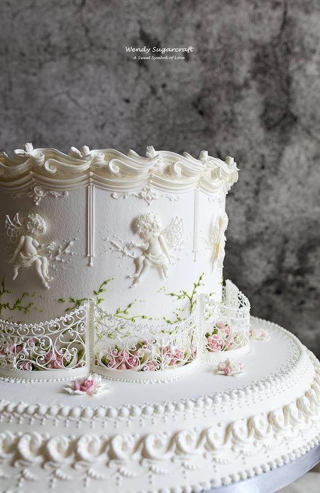 design royal icing wedding cake Pin on Amazing Sweets  Cakes  Sugar Art