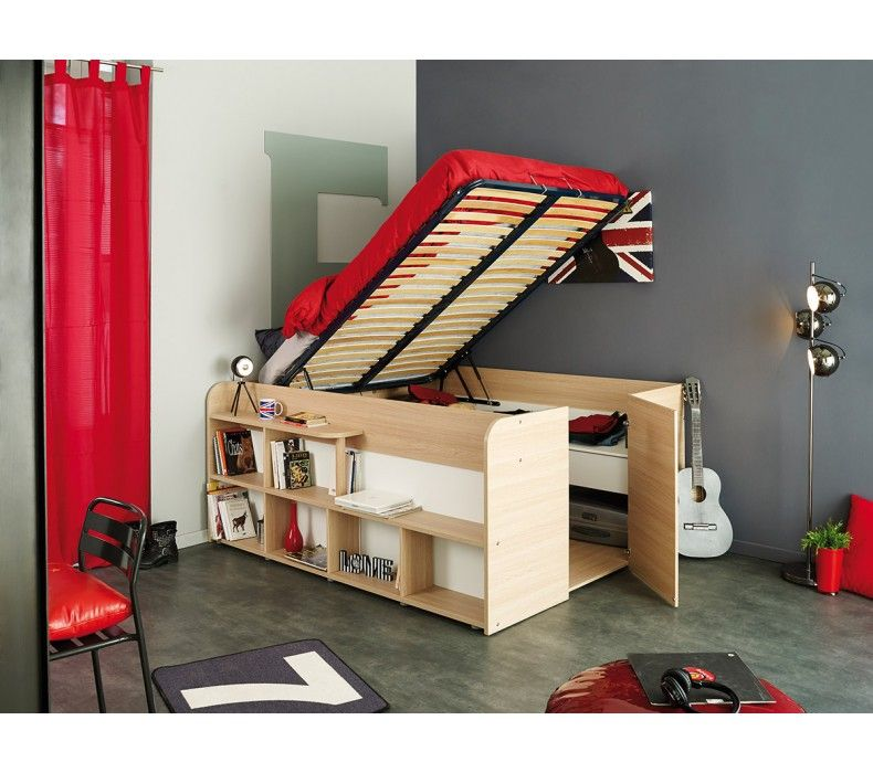 Space Up Bed And Storage Parisot Cabin Beds For Teenagers Bed