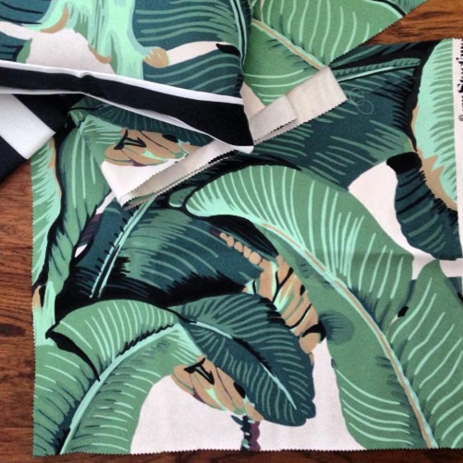The Original Beverly Hills Banana Leaf Designer