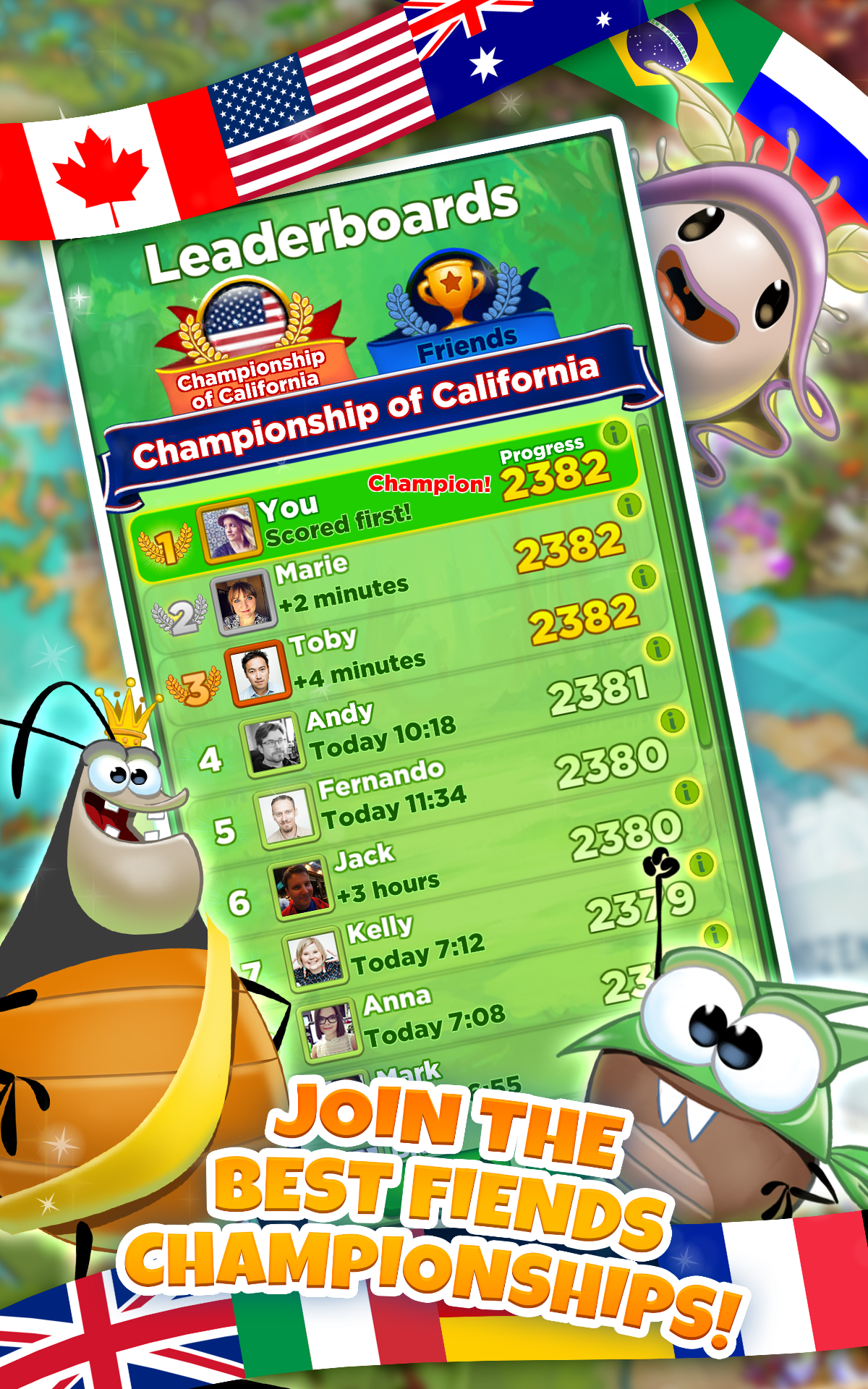 Pin by Victor Mogila on US_match3 in 2019 Best fiends