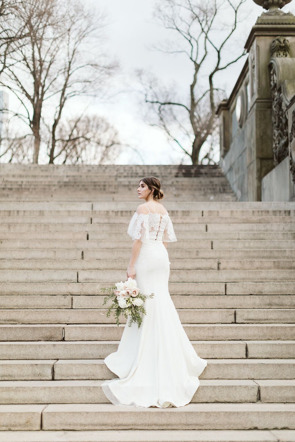 Romantic New York Spring Styled Shoot Top Wedding Dress
