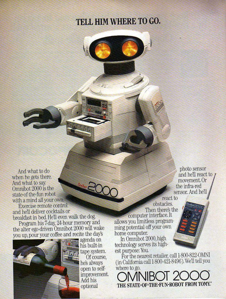 Ads 76 OMNI Advertising (198586) Rétro, Illustration