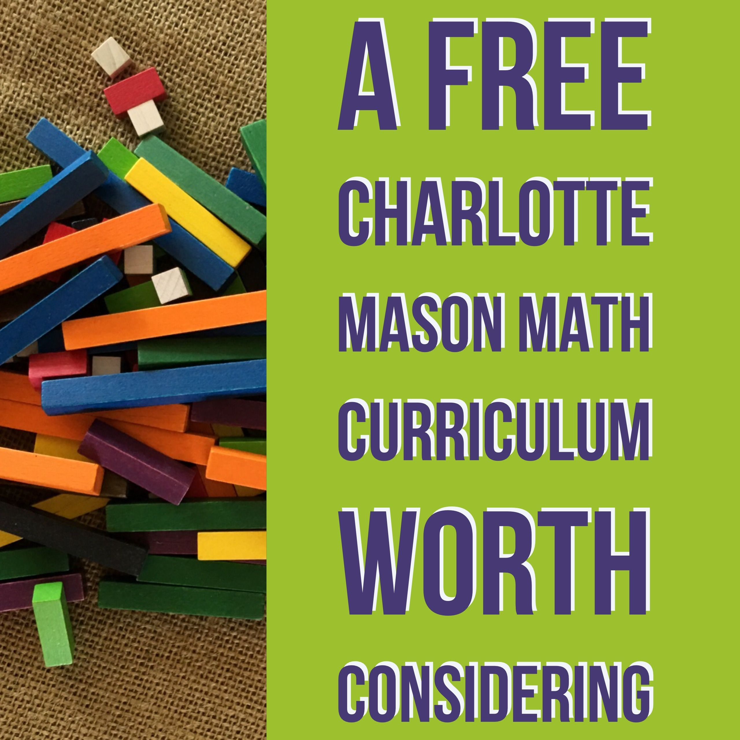 A Free Charlotte Mason Math Curriculum Worth Considering Play