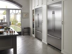 2 Refrigerators In Kitchen Google Search Luxury Kitchen Design Luxury Kitchen Kitchen Design