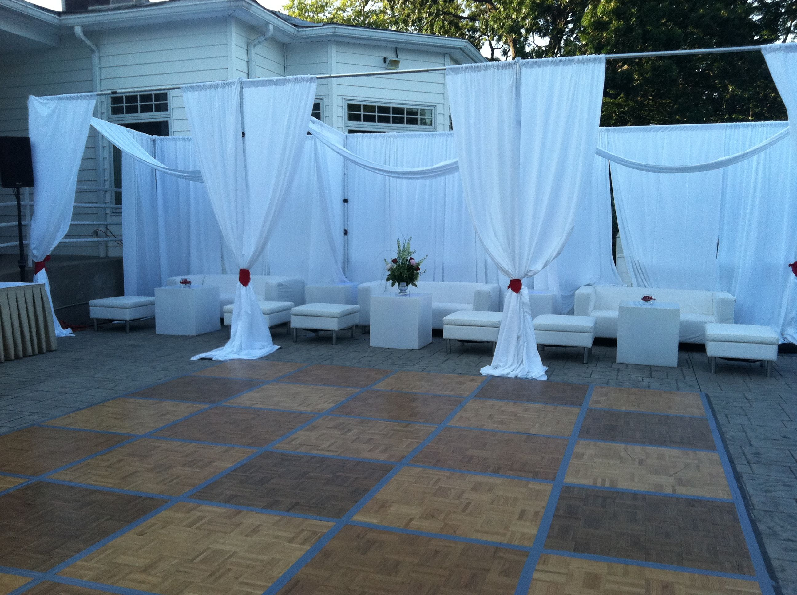Great for an all white party all white party pinterest for All white party decoration