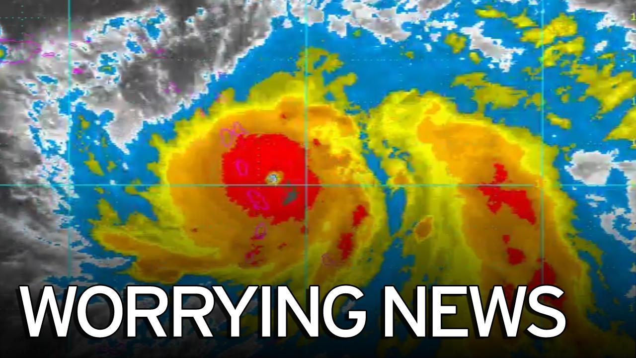 Hurricane Maria Leaves Dominica Obliterated As Prime Minister Rescued Hurricane Maria Natural Disasters Weather Prime Minister