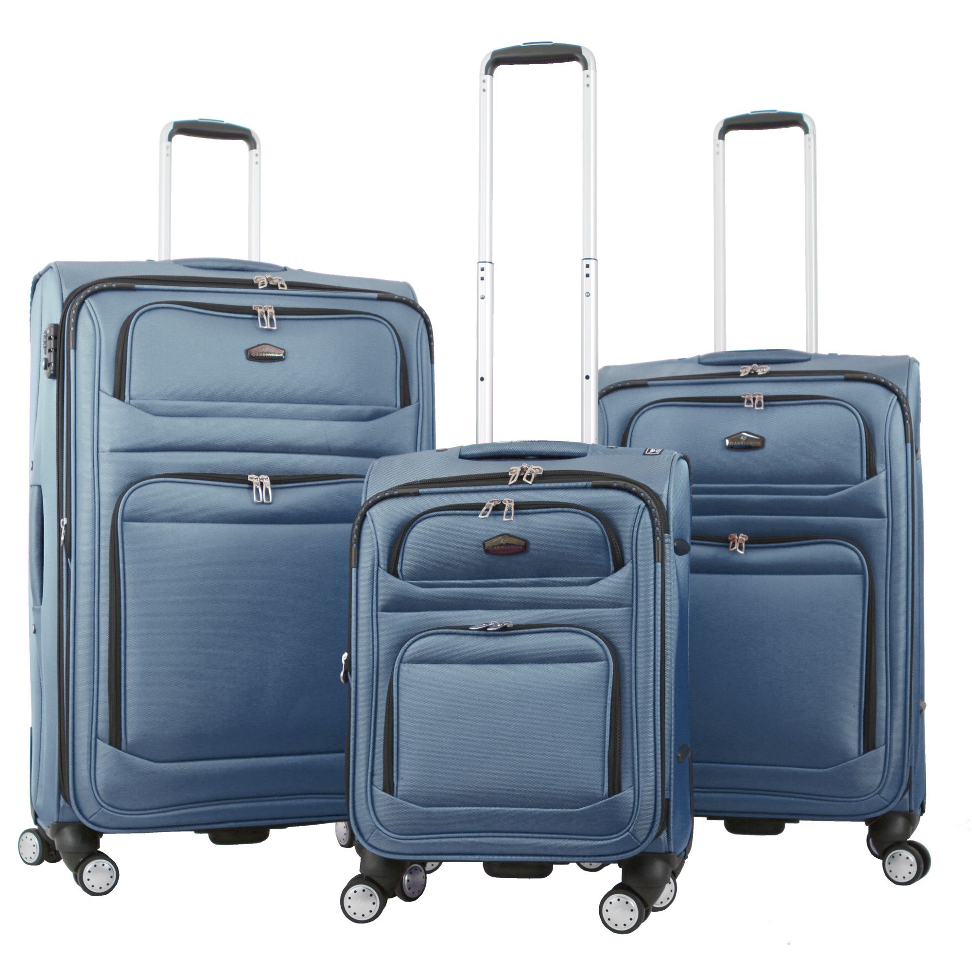 07a8f802c Gabbiano Valencia 3-piece Expandable Spinner Luggage Set | Products ...