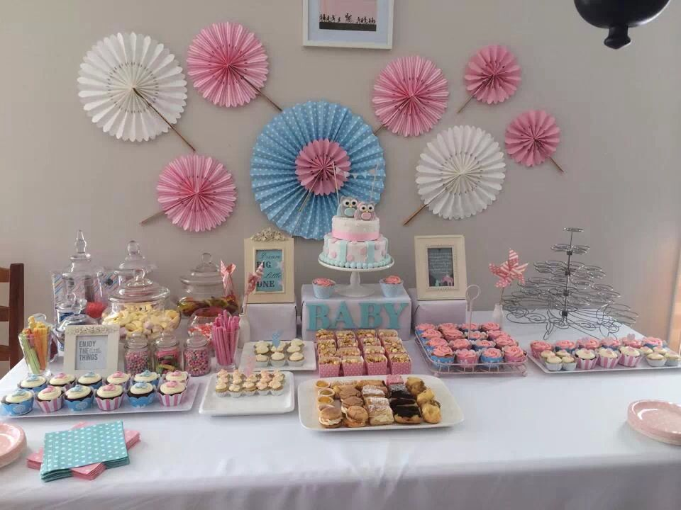 Boy Girl Baby Shower Lolly Buffet Sweets Table Decoration