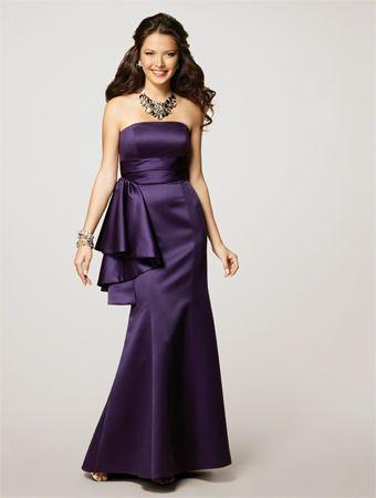 ec68cff902d Alfred Angelo - Eggplant    wedding Dress Alfred Angelo