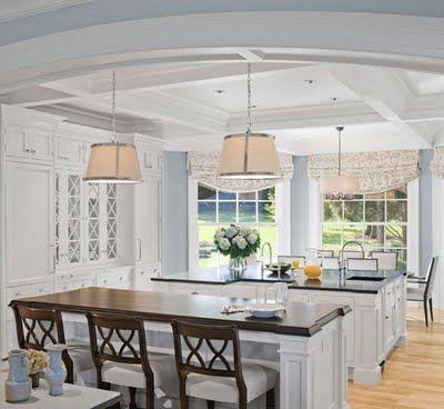 2 islands - dream kitchen Kitchen ideas Pinterest Keuken, Home
