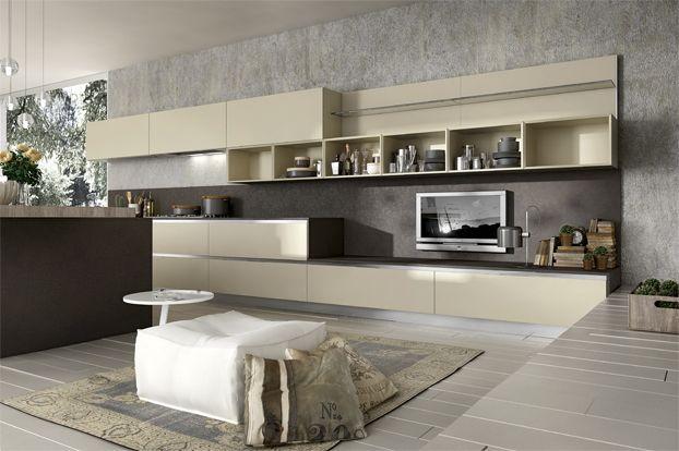 Resultado de imagen para dise os de cocinas modernas en for Disenos de cocinas modernas en espacios pequenos