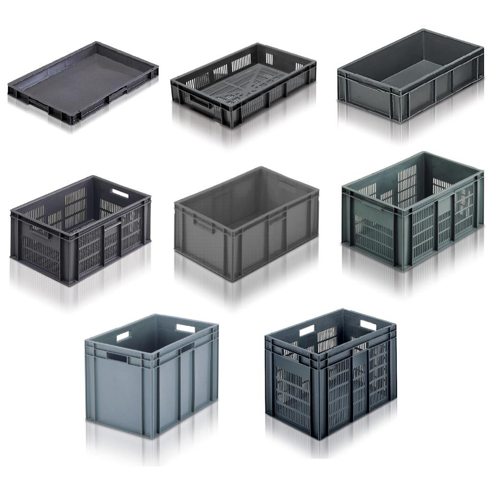 Standard 600x400 Stacking Euro Containers Euro and Products