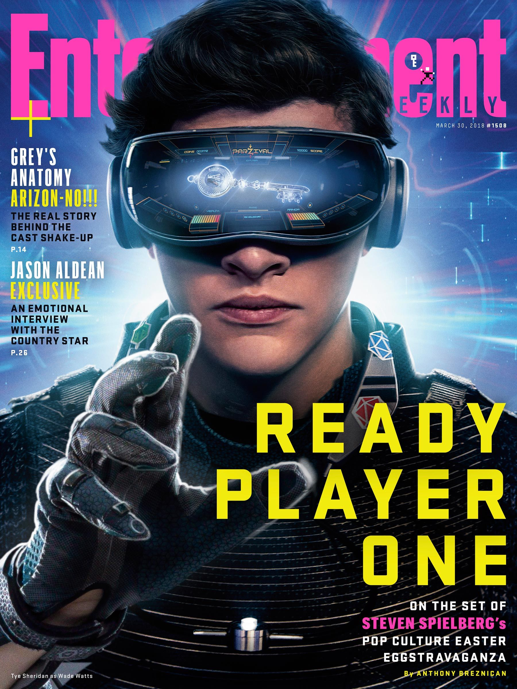 How Steven Spielberg S Ready Player One Takes The Past Into The Future This Week S Cover In 2020 Ready Player One Player One Steven Spielberg