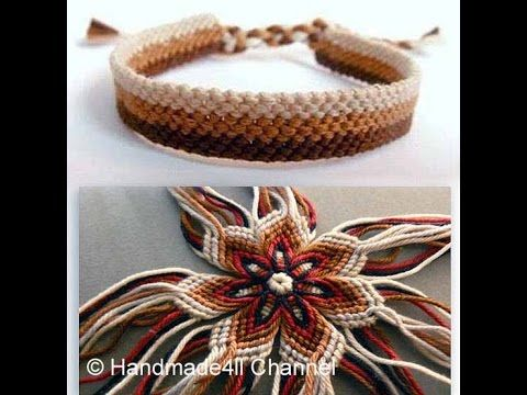Handmade Crafts Ideas - Macrame - Tutorials .