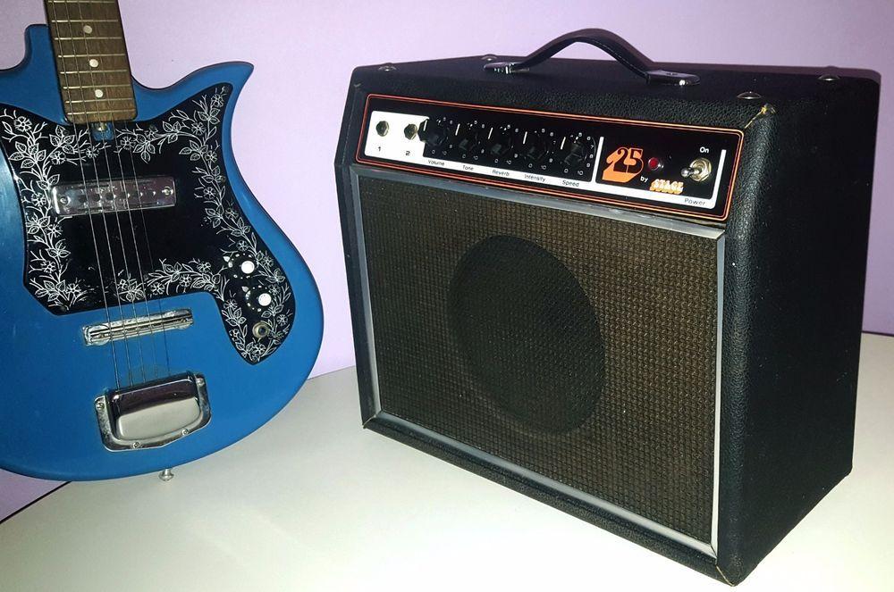 1978 Univox Stage 25 Guitar Amplifier Japanese Guitar Guitar Vintage Guitars