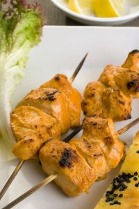 Heart Healthy Recipe Monday: Grilled Tandoori Chicken Kabobs → http://bit.ly/1jua37P